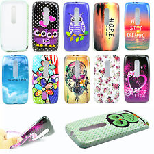 New Soft Silicone Rubber TPU Shell Back Cover Case For Moto G 3rd Gen / Moto G3