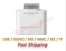 Camera Connection Kit 5-in-1 Card Reader Supports SD TF MS MMC iPad 5 4 Air Mini
