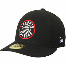 Toronto Raptors New Era Low Profile 59FIFTY Fitted Hat - Black