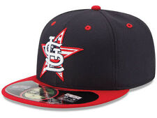 Official MLB 2014 St Louis Cardinals July 4th Stars Stripes New Era 59FIFTY Hat