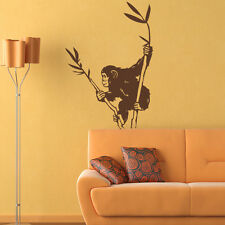 Chimpanzee Wall Decal Sticker Mural Vinyl Decor Wall Art