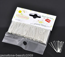 "Wholesale HX Packet(300PCs) Well Sorted Head Pins 2.5cm(1"")"