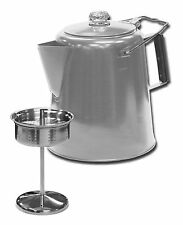 Stansport Stainless Steel Percolator Coffee Pot