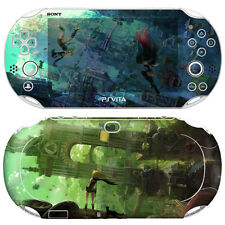 Elaborate Skin Decal Sticker For PS VITA Consoles POP SKIN - Gravity Rush #01