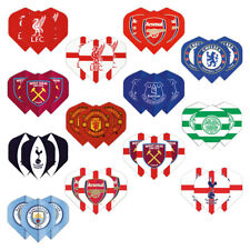 OFFICIAL FOOTBALL CLUB DART FLIGHTS - 3 sets per pack (9 flights in total)