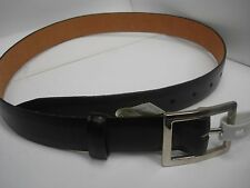 LIZ CLAIBORN leather Belt  Buckle Brown Women's Size S NWT