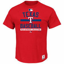 Men's Majestic Red Texas Rangers Authentic Collection Team Property T-Shirt