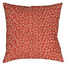 Manual Woodworkers & Weavers Dream Big Ditsy Florals Indoor/Outdoor Throw Pillow