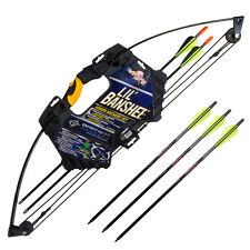 BARNETT LIL BANSHEE JUNIOR ARCHERY KIT SET COMPOUND BOW AMBIDEXTROUS 18LB DRAW