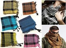 Checkered Palestine/Palestinian Scarf Men/Women Arab Shemagh Kafiya Many Colours