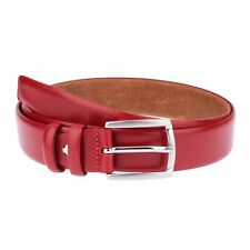 Fashion Red leather belt Womens Mens belts Casual Italian Summer 2016