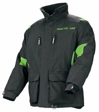 Arctic Cat Men's Boondocker Snowmobile Coat Jacket - Green - New - 5230-44_
