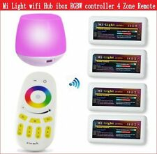 Mi Light WiFi Led controller hub ibox 4 Zone remote 2.4G Group RGBW Controller