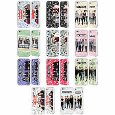 OFFICIAL ONE DIRECTION GROUP ICON SILVER SLIDER CASE FOR APPLE iPHONE PHONES