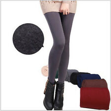 Woman Warm Winter Skinny Slim Leggings Stretch Pants Thick Footless Sexy Charm