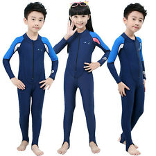 New Children's Piece Scuba & Snorkeling Wetsuit Rash Guard Surfing Surf Clothing