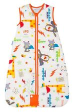 Grobag Travel Sleeping Bag - Save the Day 1.0/2.5 Tog (0-6 months to 6-10 years)