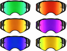 GOGGLE-SHOP REPLACEMENT MIRROR LENS to fit OAKLEY AIRBRAKE MOTOCROSS MX GOGGLES