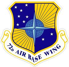 US Air Force USAF72d Air Base Wing Decal / Sticker