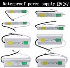 DC 12V 24V IP67 Waterproof Power Supply LED Driver Transformer Adapter 200W 250W