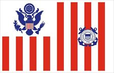 United States Coast Guard Ensign Decal / Sticker