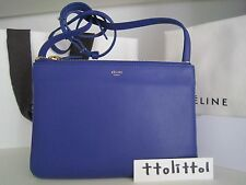 blue celine trio bag