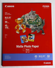 Genuine Canon PPM 8.5x11 matte photo paper for PIXMA MG3222 MG3620 MX512 MG3620
