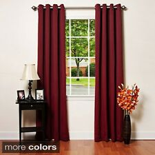 Aurora Home Grommet-top Thermal Insulated 120-inch Blackout Curtain Panel Pair