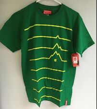 Burton Snowboard Men's Tee Shirt T-Shirt Range Kelly Green Small - New w/ Tags