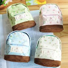 Lovely New Fabric Canvas Mini Floral Shoulder Bag Women Cheap Coin Purse Pouch
