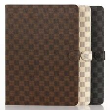 Luxury Folding Folio Leather Stand Case Smart Cover For iPad 234 iPad Air Mini12