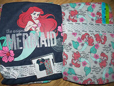 Ladies DISNEY  LITTLE MERMAID Pyjamas Primark T Shirt Top Lounge Pant