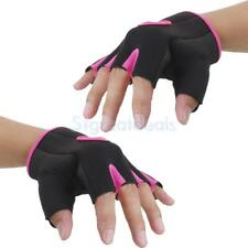 Cycling Bike Bicycle Fingerless Gloves Half Finger Sports Mitts