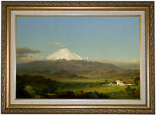 'Cotopaxi 1855' by Frederick Edwin Church Framed Painting Print