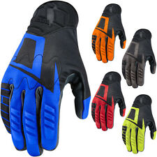 Icon Wireform Mens Street Riding Cruising Touring Motorcycle Gloves