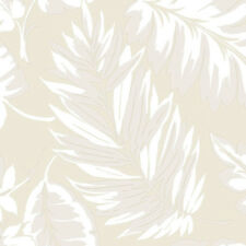 """Norwall Wallcoverings Inc Paradise 32.7' x 20.5"""" Palm Leaf Wallpaper"""
