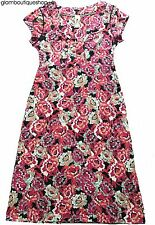 SALE!! BN LADIES MISTRAL FLORAL PRINT JERSEY SUMMER SHIFT TEA DRESS 8~16 £15.99