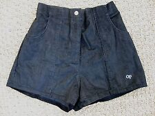 VINTAGE--80's OP Ocean Pacific Surf Shorts--High Waisted--Black Corduroy--Size S