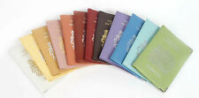 Real Leather UK Travel Passport Cover Holder Protector Case Red Pink White