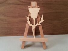 Thistle Shape 4mm birch ply wood, craft Blank,Wooden, plaque, cutouts x 10 Lg