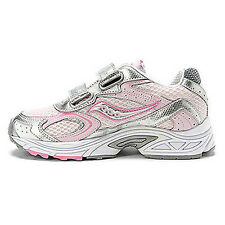 Saucony New Girls Cohesion athletic running shoes Size 3 4.5