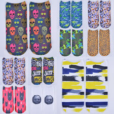Unisex Women's New 3D Printed Unisex Harajuku Casual Style Low Cut Ankle Socks