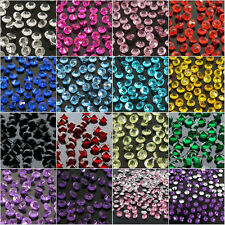 2000Pcs Crystal Diamond Acrylic Wedding Party Decor Scatter Table Confetti 4.5MM