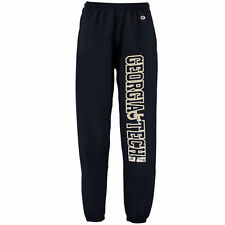 Men's Champion Navy Georgia Tech Yellow Jackets Powerblend Banded Pants