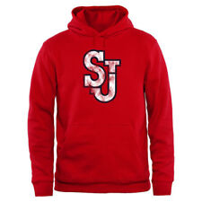 St. Johns Red Storm Big & Tall Classic Primary Pullover Hoodie - Red - NCAA
