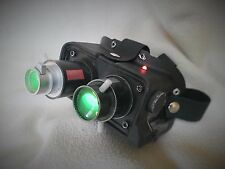 Ghostbusters Video Game GBTVG BLACK Replica Ecto GOGGLES w/ LIGHTS proton pack