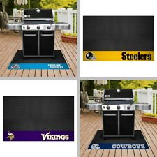 "Choose Your NFL Team 26x42"" Heavy Duty Vinyl Barbecue BBQ Grill Mat by Fan Mats"