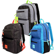 "Trailmaker Classic 19"" Backpack 3-Compartment School Book Bag Boy Girl NEW"