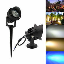 LED COB Path Flood Spot Light IP65 6W 10W 14W Outdoor Lawn Landscape Lamp Bulb