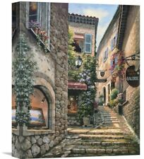 Global Gallery 'Gallery Steps' by Sung Kim Painting Print on Wrapped Canvas